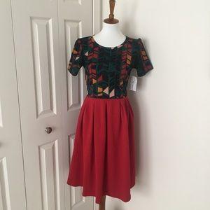 LuLaRoe Amelia Dress, size L